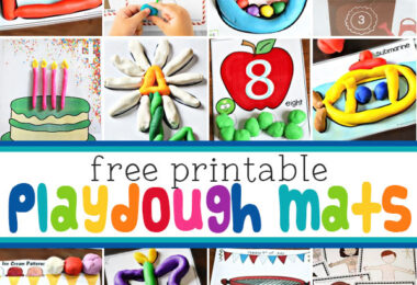Do your kids love playing with playdough? Toddler, preschool, pre-k, kindergarten, and first grade students love shapping, molding, and creating withplaydough activities. If you are looking forplaydough ideas you will love all our homemade playdough easy and free printableplaydough matsto encourage creativity, play, and strengthening hand muscles while having FUN!