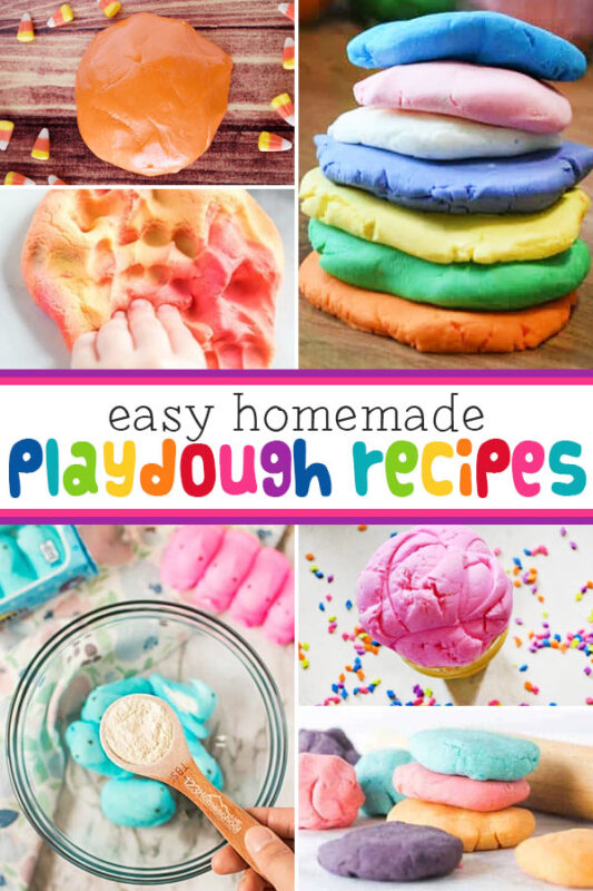 Do your kids love playing with playdough? Toddler, preschool, pre-k, kindergarten, and first grade students love shapping, molding, and creating with playdough activities. If you are looking for playdough ideas you will love all our homemade playdough easy and free printable playdough mats to encourage creativity, play, and strengthening hand muscles while having FUN!