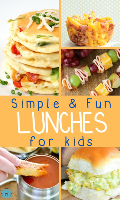 Are you tired of the same old mac and cheese or peanut butter and jelly? I totally understand! Try these delicious andFun Lunch Ideas For Kids!