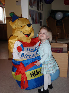inflatable pooh bear