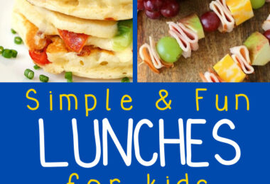 Are you tired of the same old mac and cheese or peanut butter and jelly? I totally understand! Try these delicious and Fun Lunch Ideas For Kids!
