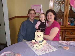 Bear 1st Birthday
