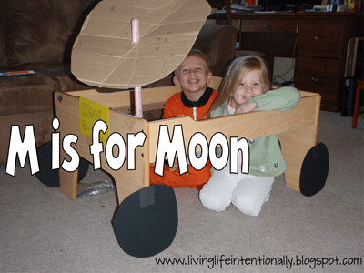 M is for Moon Unit for Preschool and Homeschool Families