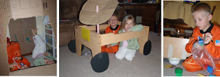 Creative Play: Apollo 11, Moon buggy, collecting moon rocks
