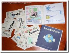 Free Printable: Pretentd Passport & Tickets from www.livinglifeintentionally.blogspot.com