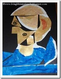 Goofy Self-Portrait Project a la Picasso