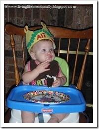 Yum - cake!