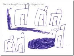 Goofy drew our street