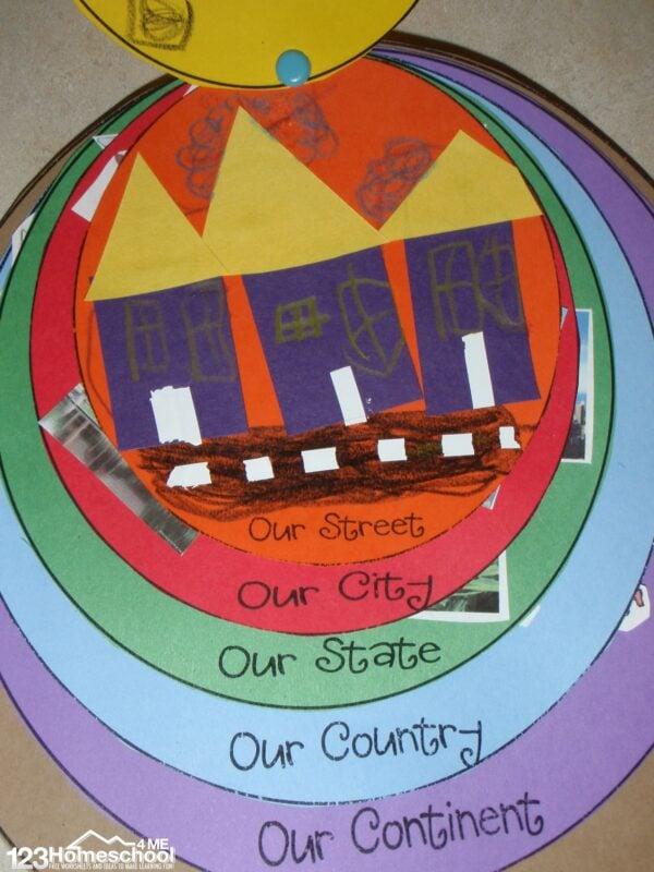 Expanding Horizons activity for kindergarten
