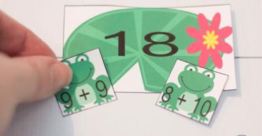 Frog-Addition-Game