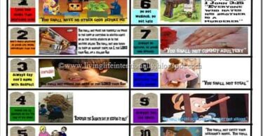 FREE 10 Commandments Printable
