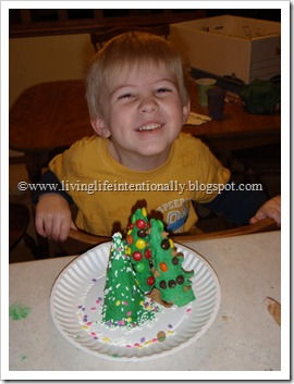 Ice Cream Cone Christmas Tree Forest