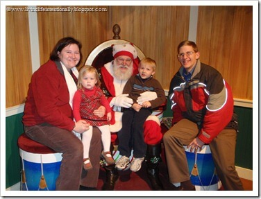 Meeting Santa