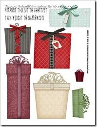 Sorting Christmas Presents Free Worksheet