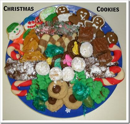 Christmas Cookie Plates for Neighbors