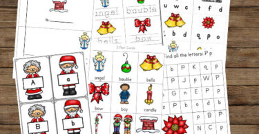 FREE Christmas Worksheets for preschoolers and kindergartners