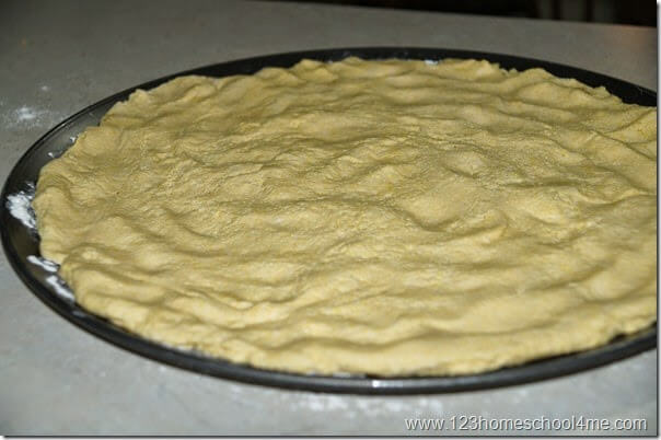 roll out pizza crust
