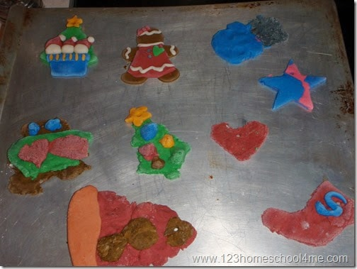 so many super cute and clever salt dough crafts with recipe