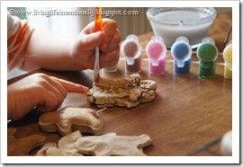 Painting Christmas Crafts