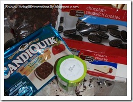 Oreo ball ingredients