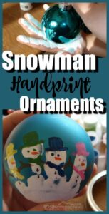 Snowman Keepsake Ornament