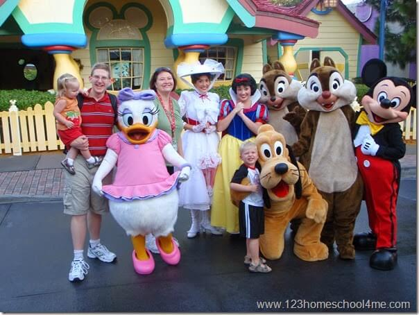 Disney World is the best family vacation ever