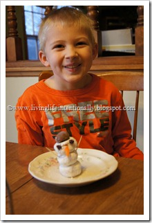 Breakfast Snowmen Food Fun for Kids