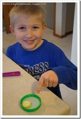 Homeade Compass for Kids