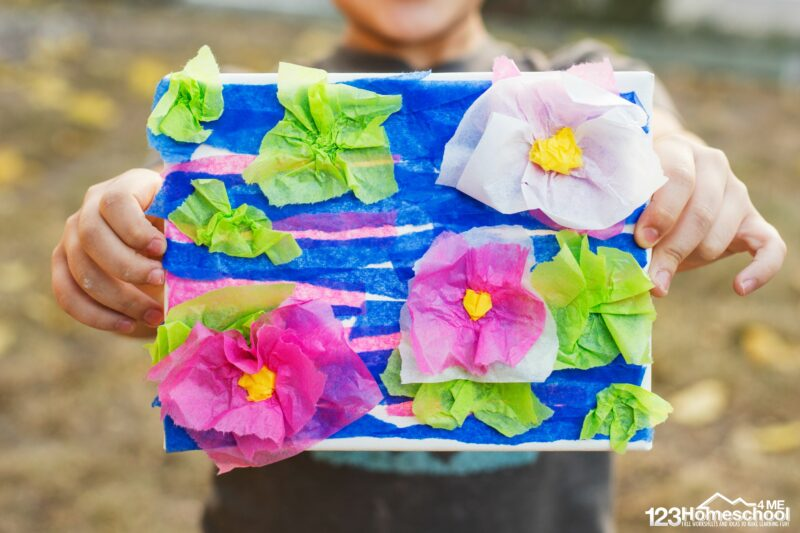 Monet Art for Kids