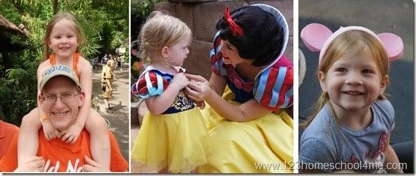 Preschoolers at Disney World
