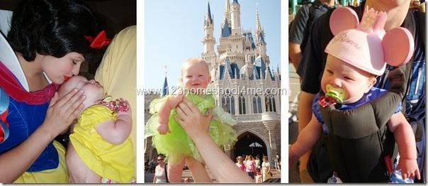 babies at Disney World