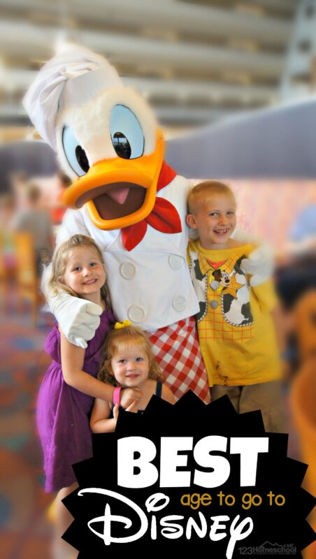Best Age to go to DISNEY WORLD - so many great tips and things to think about before planning your next trip to Disney #disneyworld #disneyvacation #vacations