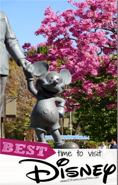 BEST Time to Visit Disney World - Lots of great advice for Disney World Planning based on crowds, price, special events, summer only perks, and more! #disney #disneyworld #disneyvacation