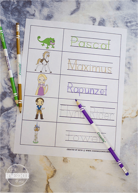 disney worksheets for kids prek, preschool, kindergarten, first grade