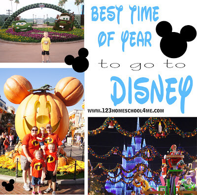 What time of the year is the best to go to Disney World?