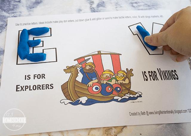 explorer worksheets for preschool, kindergarten