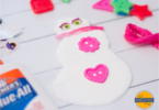 Glue Snowman Craft