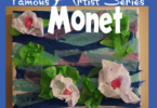 Tissue Paper Monet Art Project