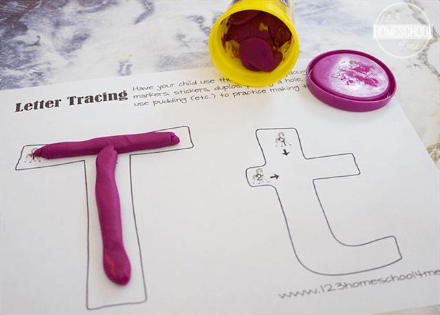 kindergarten worksheets to help with alphabet letters