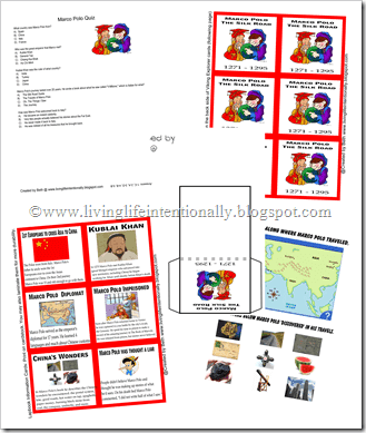 marco polo lesson plans worksheets