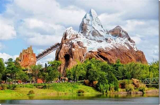 Animal Kingdom Expedition Everest Rollercoster