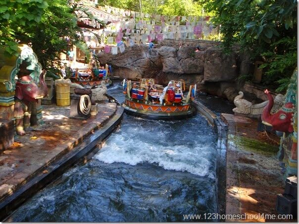 Animal Kingdom - Kali River Rapids Ride
