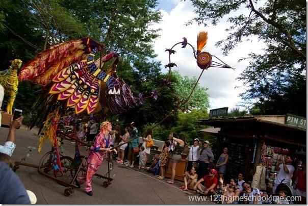 Animal Kingdom Mickeys Jammin Jungle Parade closed in June 2014