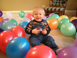 lots of balloons to make birthdays special