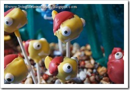 cute little fish cake pops