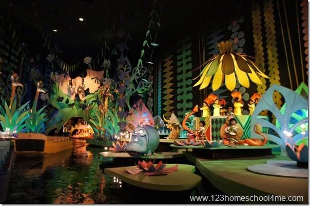 It's a Small World Ride at Disney World