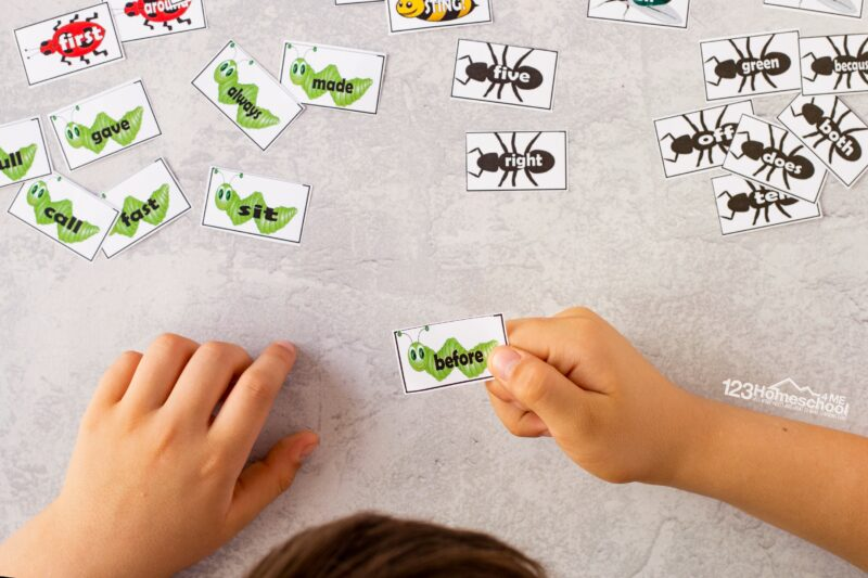 make learning sight words easy and fun with this free printable game