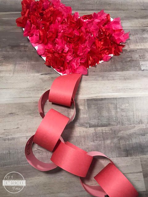 Valentines Day Craft & Countdown