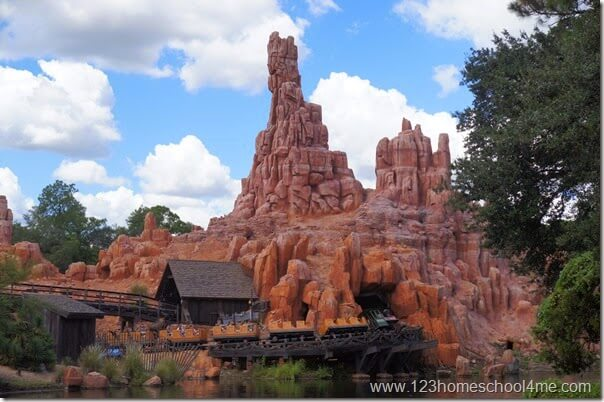 big thunder mountain disney world magic kingdom