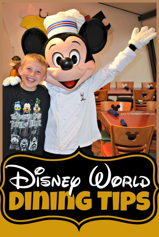 Disney World Dining Tip - if you are planning a Disney World vacation, you will LOVE these fantastic disney world ideas for finding the best snacks, best quick service meals, and best table service disney world dining plan. Lots of pictures and tips and advice you'll want to read #disneyworld #disney #disneyworldadvice #disneywrodladvice #familyvacation #disneyvacation